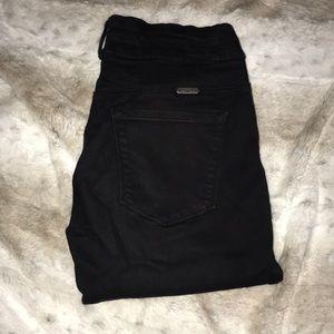 Black high rise KanCan jeans